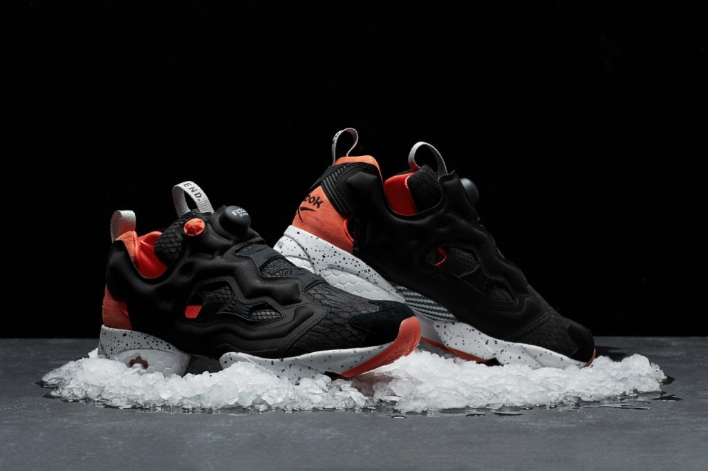 "END. X Reebok Instapump Fury ""Black Salmon"""