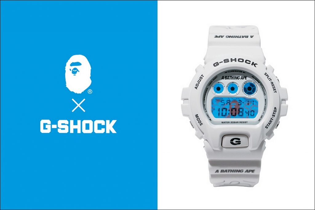 A BATHING APE x G-SHOCK DW-6900