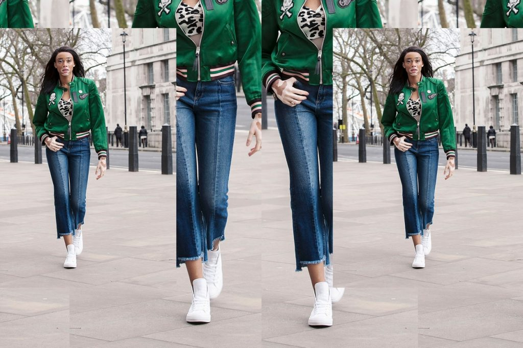 Winnie Harlow talk street style for Converse's 'Forever Chuck' series