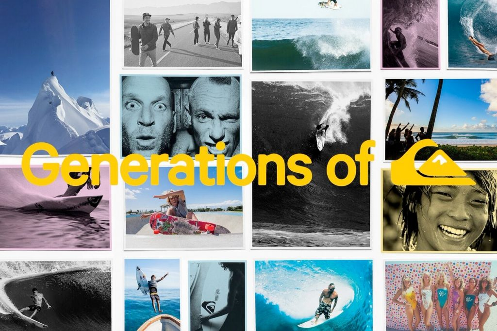 Campagne Generations of Quiksilver