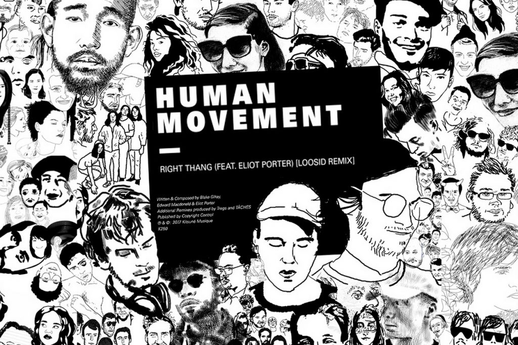 Human Movement présente le remix de Right Thang par Loosid