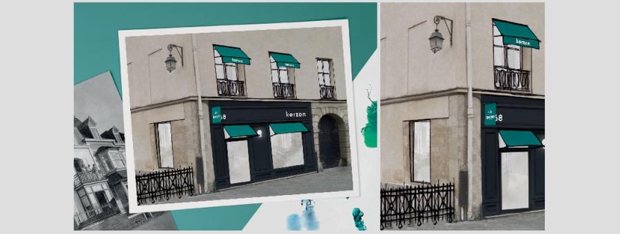 La Maison Kerson ouvre sa boutique à Paris