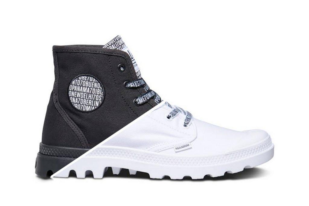 PALLADIUM lance une Pampa Hi Boot exclusive pour son 70ème anniversaire