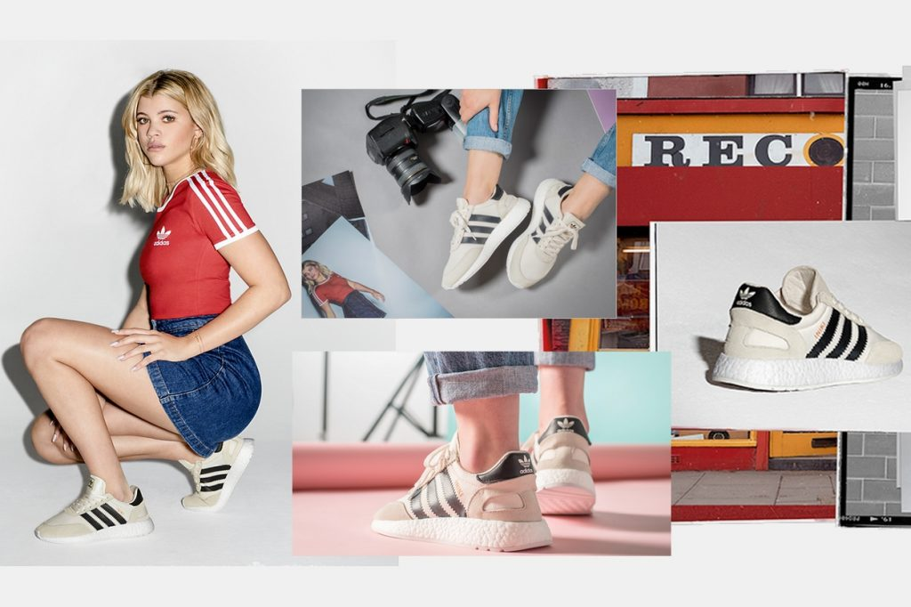 Foot Locker x adidas Originals présente la Iniki Runner Boost avec Sofia Richie