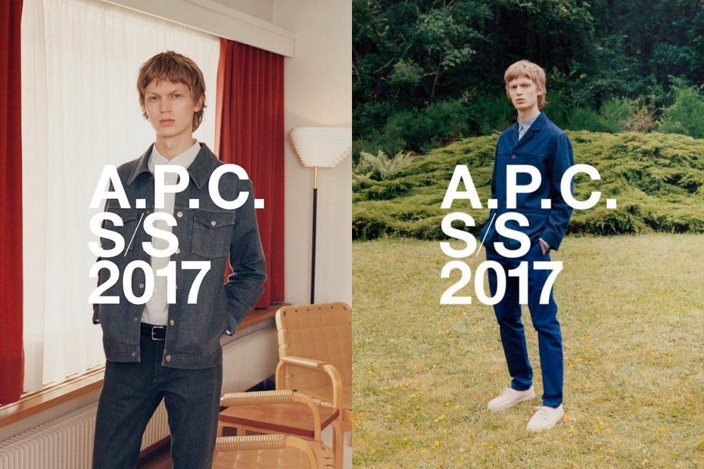 Campagne A.P.C. Printemps/Été 2017