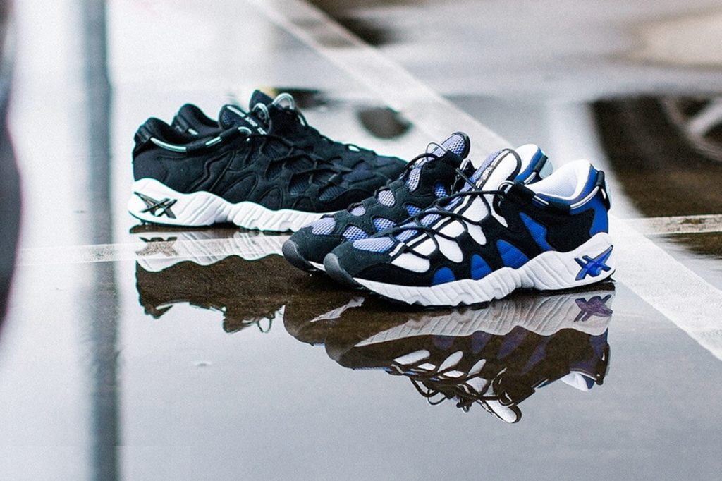 ASICS Gel-Mai Black and Blue