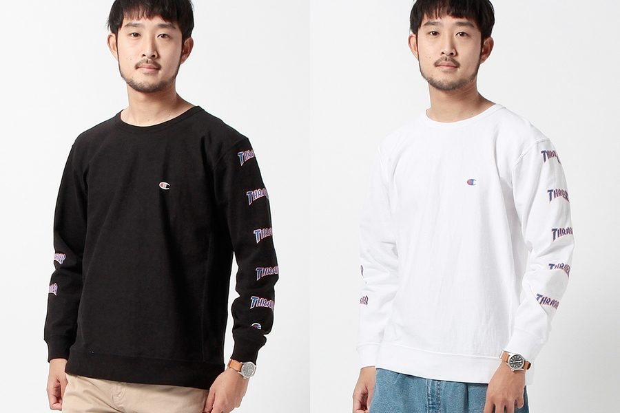 Collection Capsule Beams X Champion X Thrasher Printemps