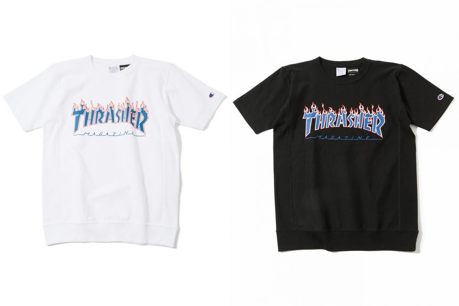 collection capsule beams x champion x thrasher printemps   u00c9t u00e9 2017