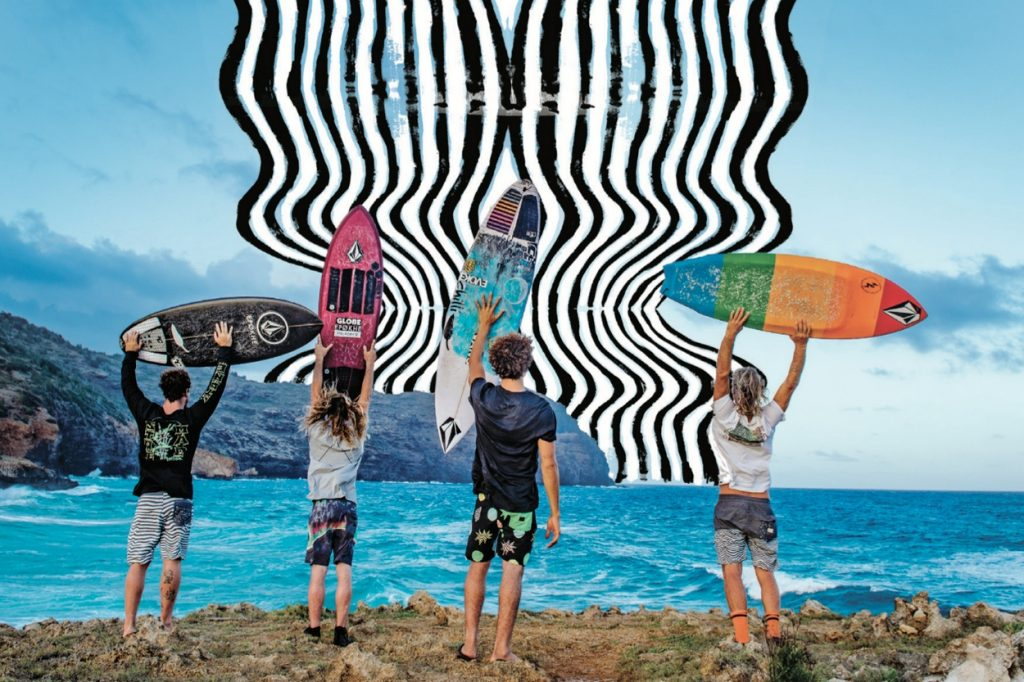 Collection boardshorts Volcom Printemps/Été 2017