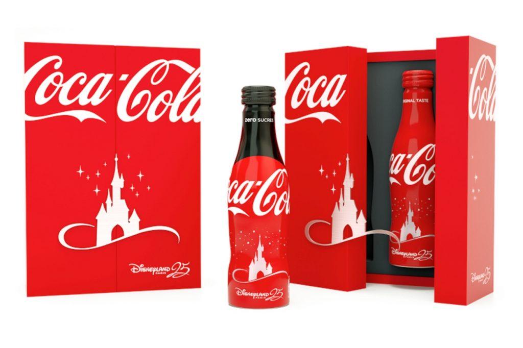 "Coca-Cola x Disneyland Paris ""25ème anniversaire"""