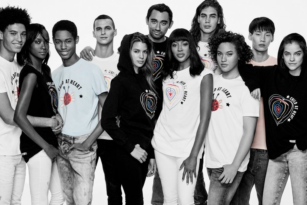 "Collection Fashion for Relief x Diesel ""Child At Heart"""