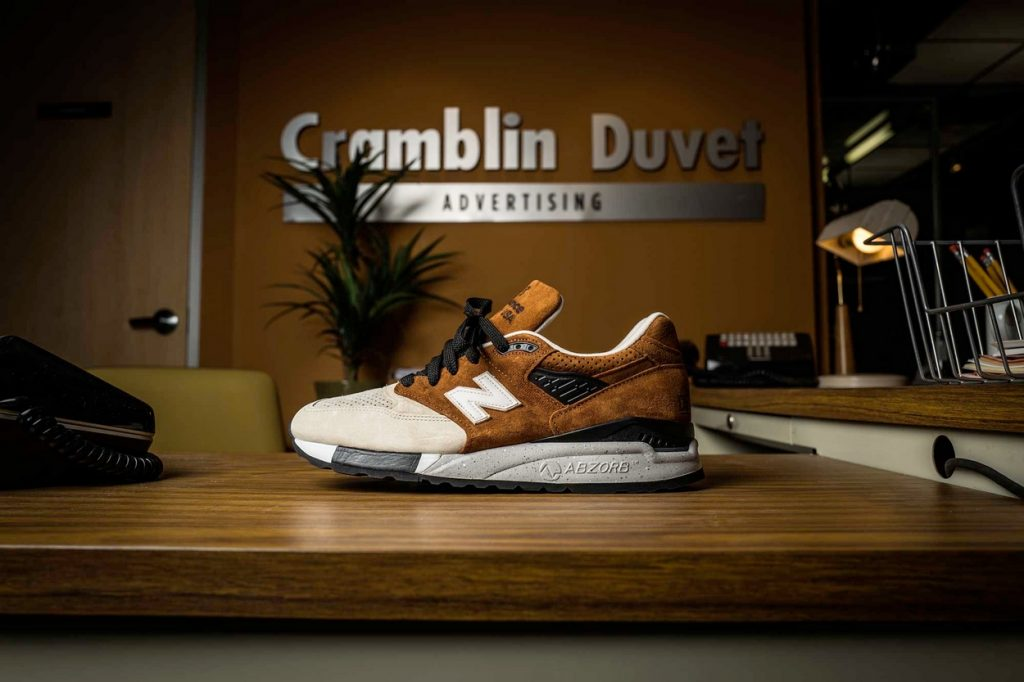 "DISTINCT LIFE x New Balance ""Detroiters"" 998 Made In USA"