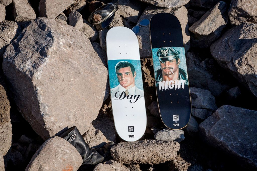 Tom of Finland x Happy Hour Skateboards