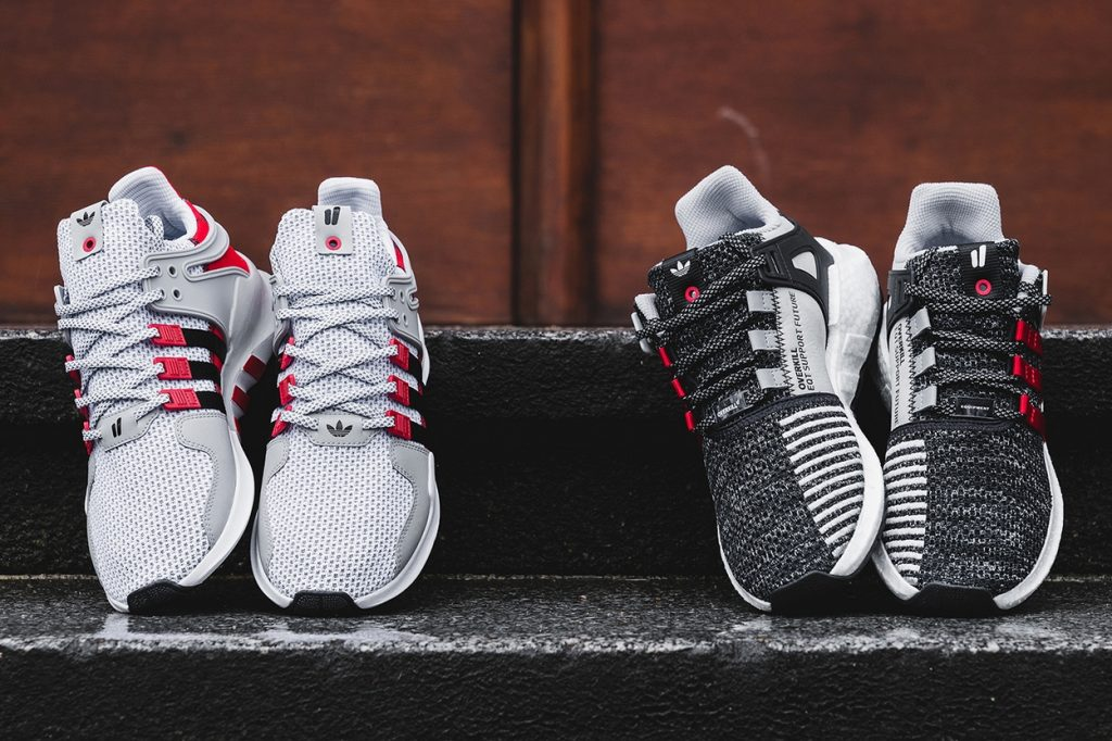 "adidas Consortium x Overkill EQT Support ""Coat of Arms"" Pack"