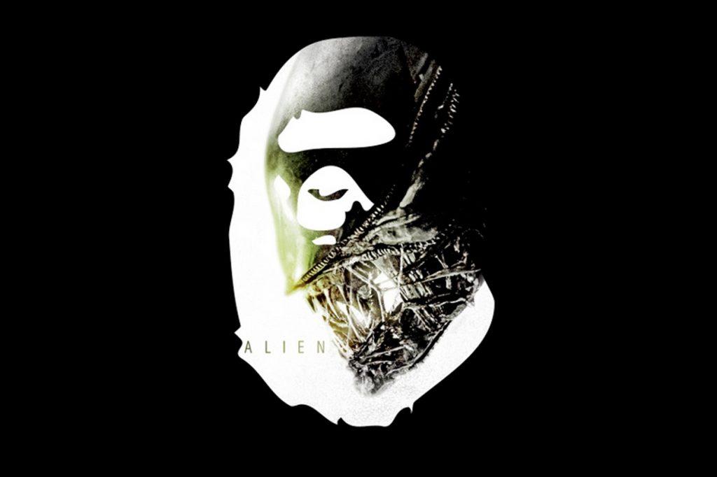 BAPE x Alien