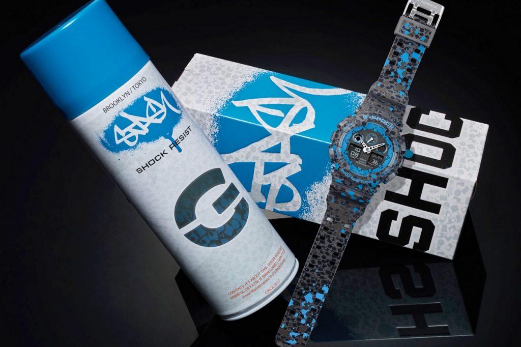 Montre édition limitée STASH x G-Shock GA-100