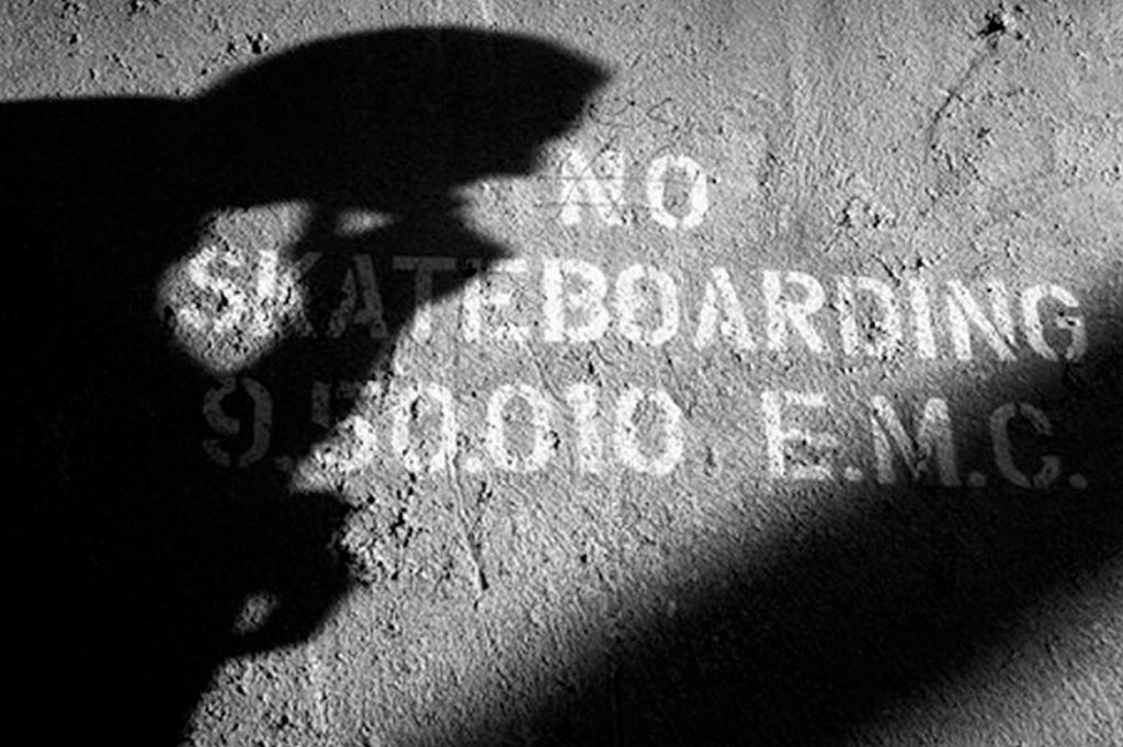 Exposition : No Skateboarding par Mathias Fennetaux