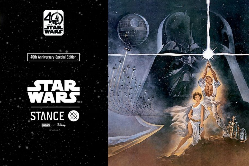 Collection STANCE x Star Wars 40ème anniversaire