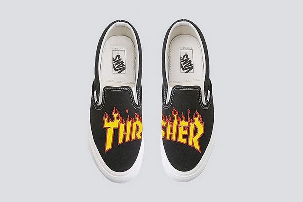 collab Thrasher x Vans