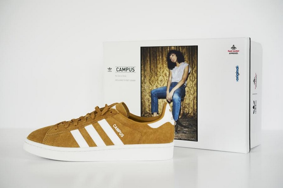 adidas campus moutarde