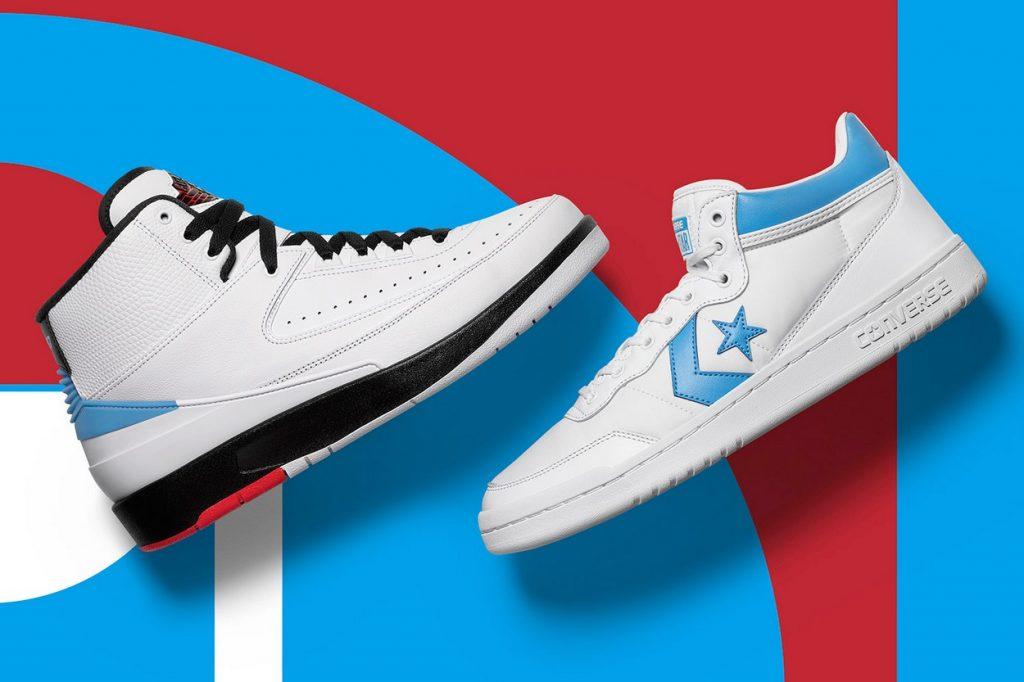 Pack Air Jordan x Converse
