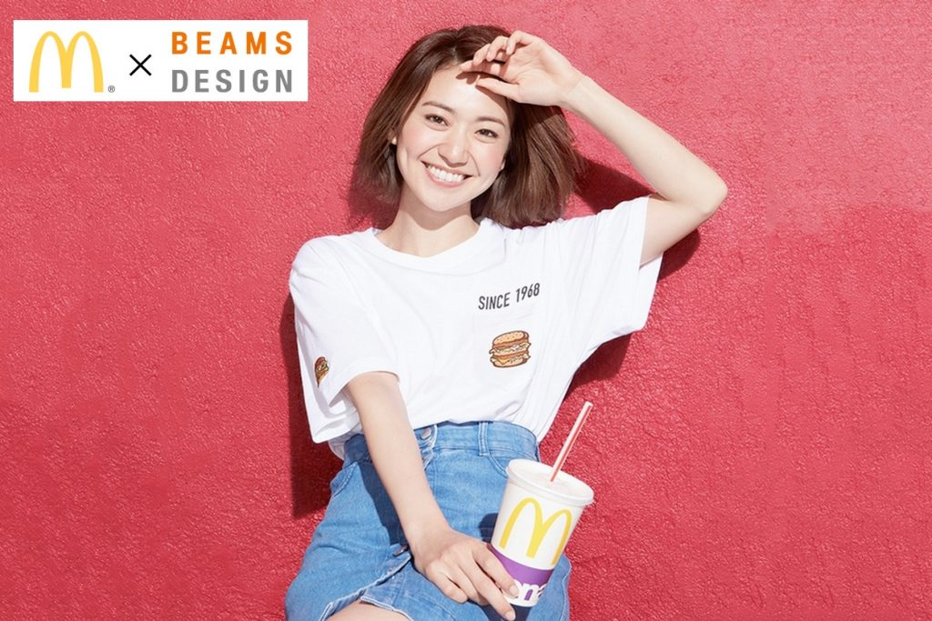 McDonalds x BEAMS DESIGN
