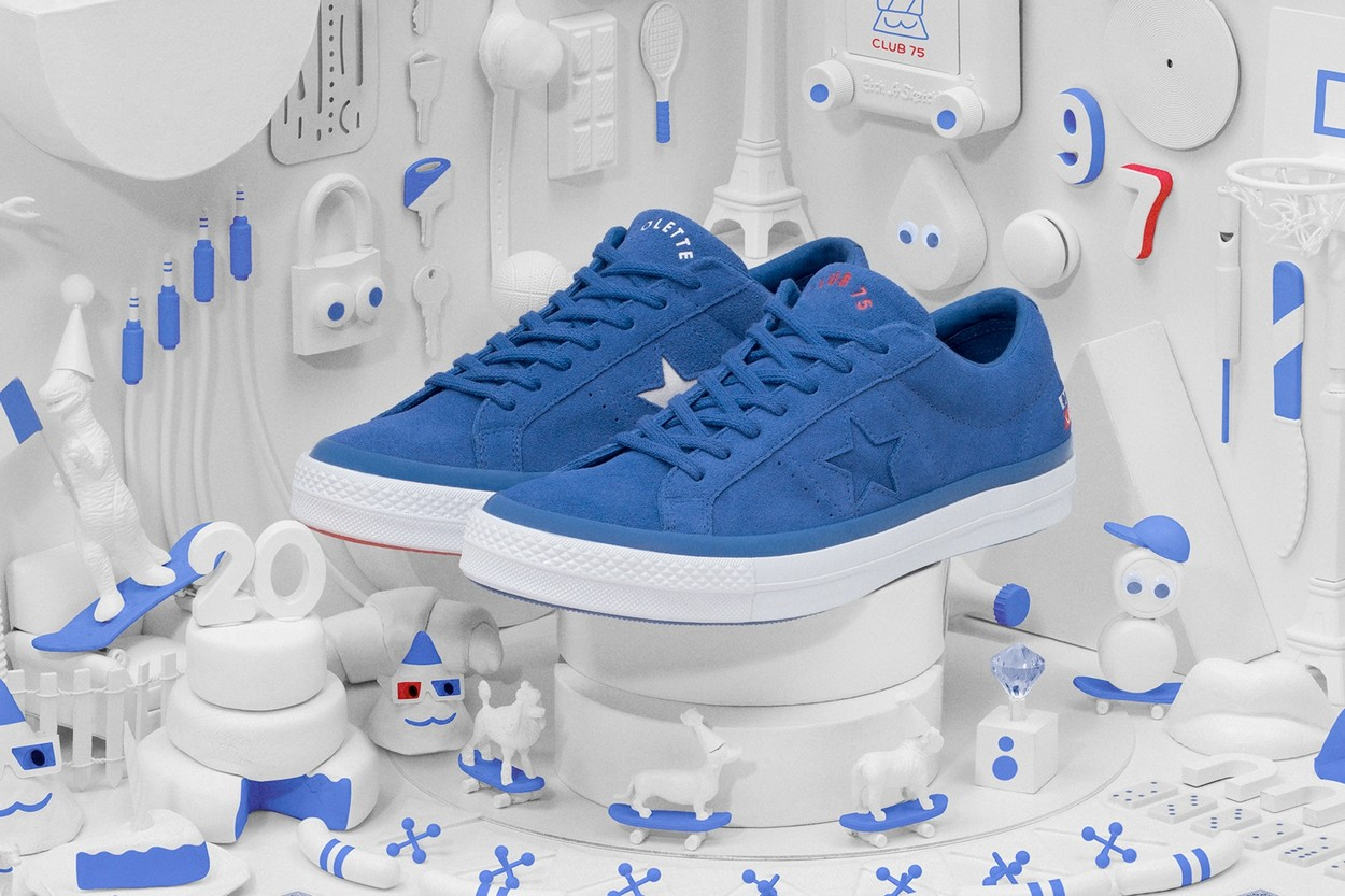 "Collaboration ""Triple C"" Converse x colette x Club 75"
