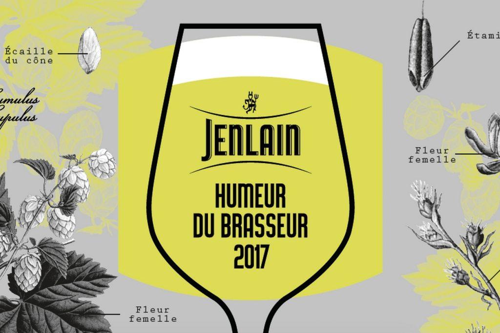 """Édition limitée Jenlain """"L'Humeur du Brasseur 2017"""""""