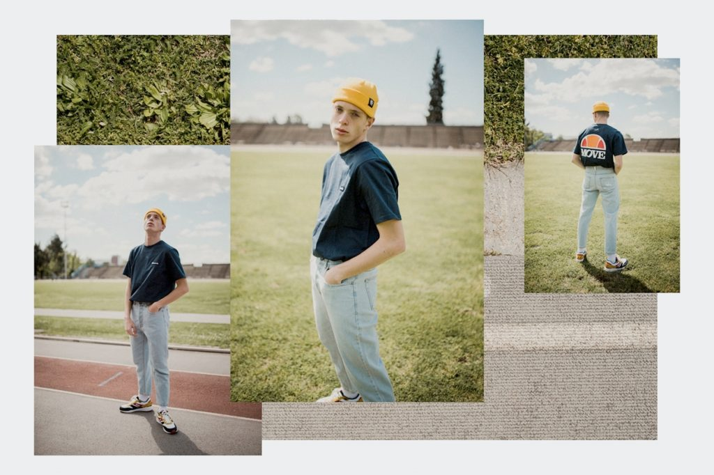 La collection capsule rétro-sportswear Move x Ellesse