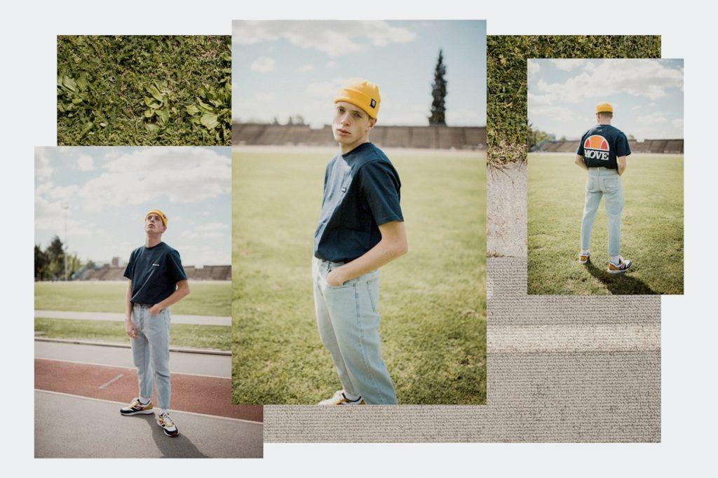 La collection capsule rétro-sportswear Move x Ellesse