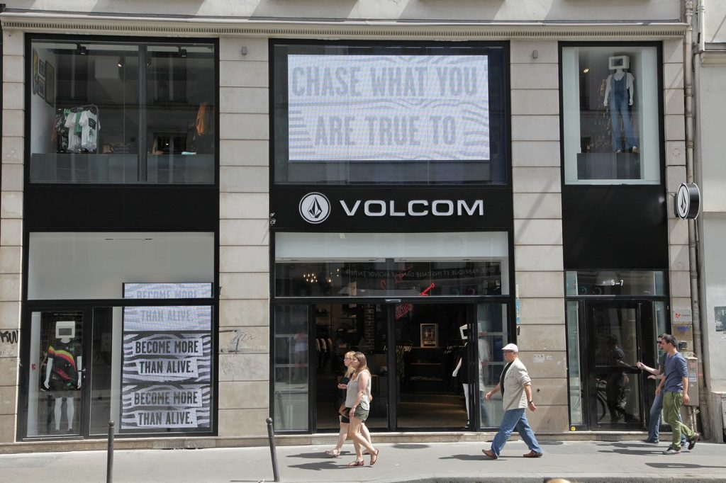 Boutique Volcom Paris