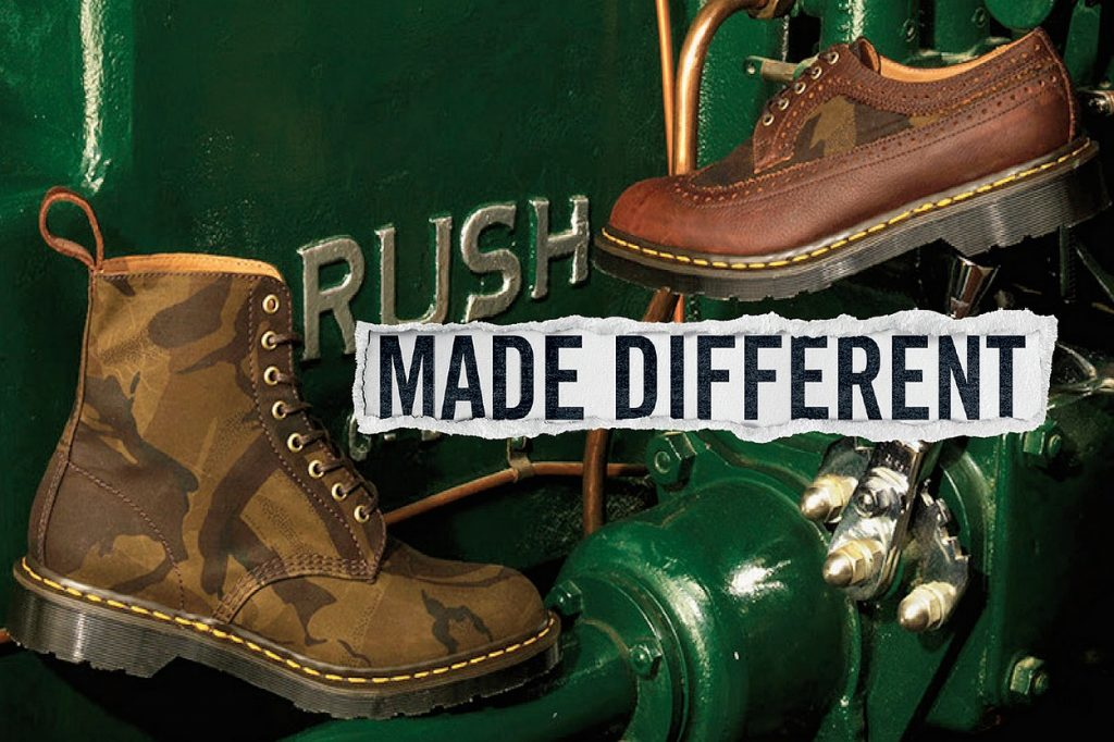 """Dr. Martens collection """"Made In England"""" Camo"""