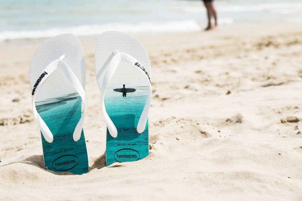 Collection Havaianas Hype et Photoprint