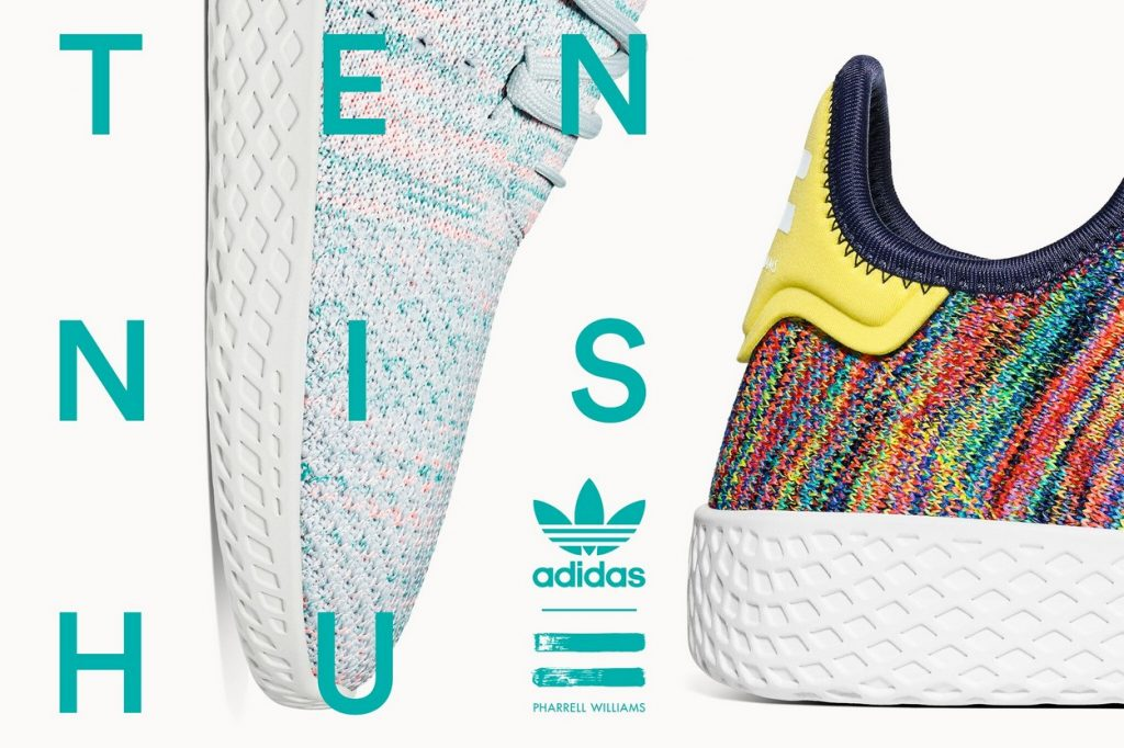 Pharrell Williams x adidas Originals Tennis Hu Part II