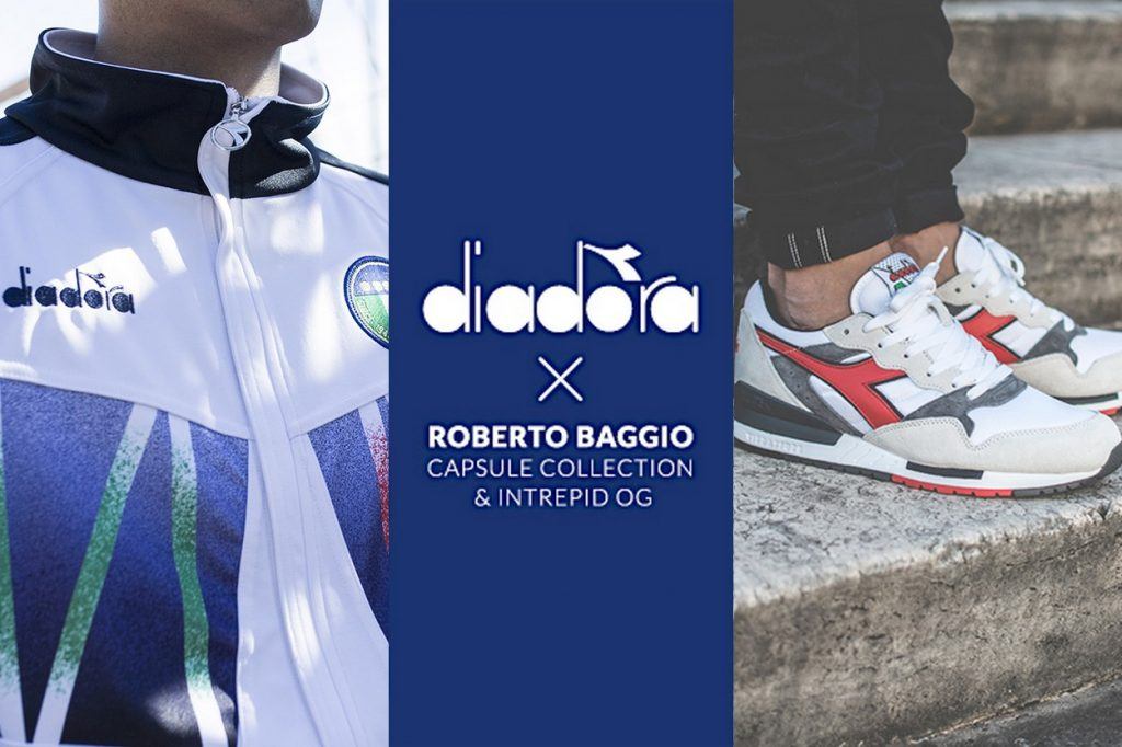 Collection capsule Diadora x Roberto Baggio