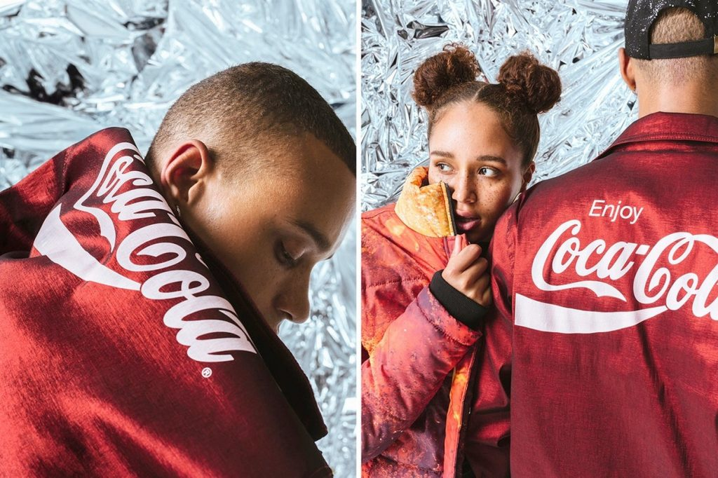 Collection capsule Hype x Coca Cola