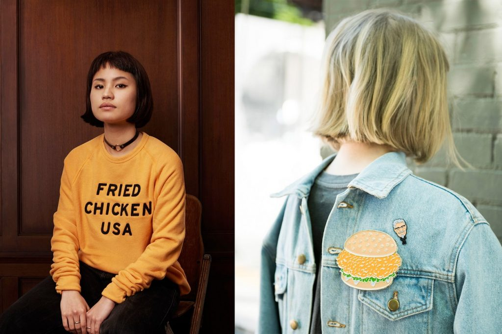 KFC lance une nouvelle collection de vêtements