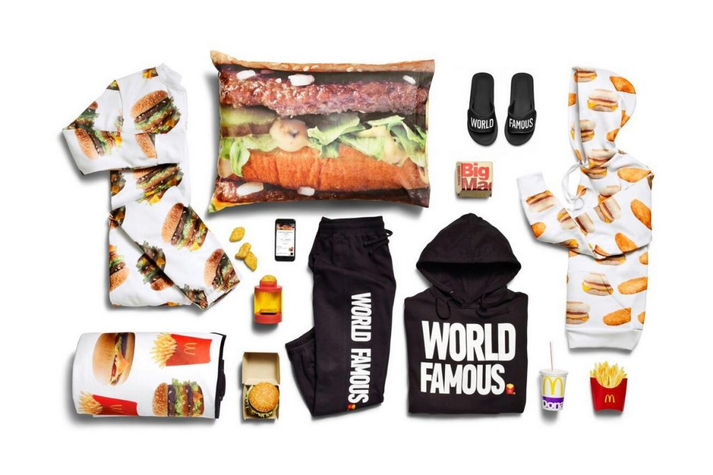 McDonald's présente sa collection McDelivery