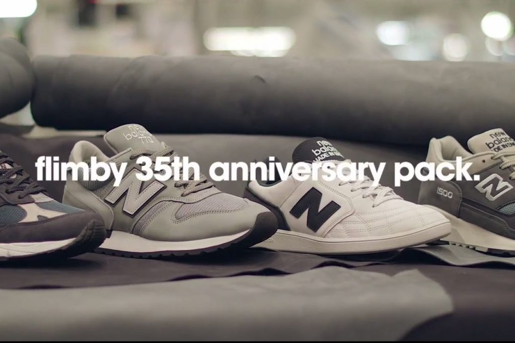 "New Balance ""Flimby 35th Anniversary Pack"""