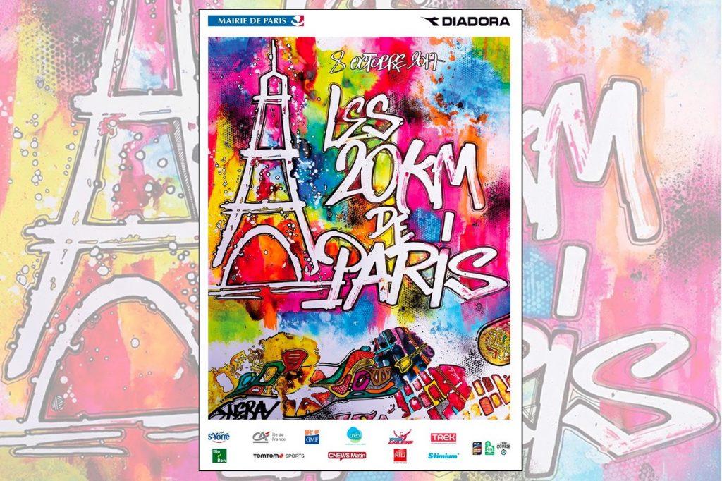 Les 20km de Paris sous le signe du street art