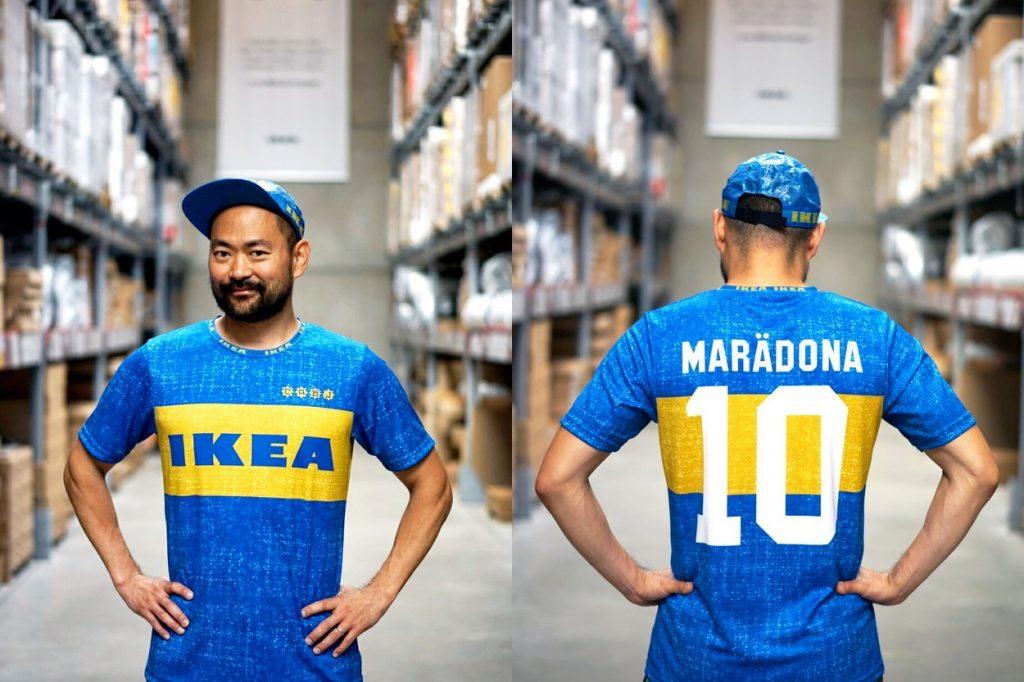 IKEA Frakta x Boca Juniors jersey par Fokohaela