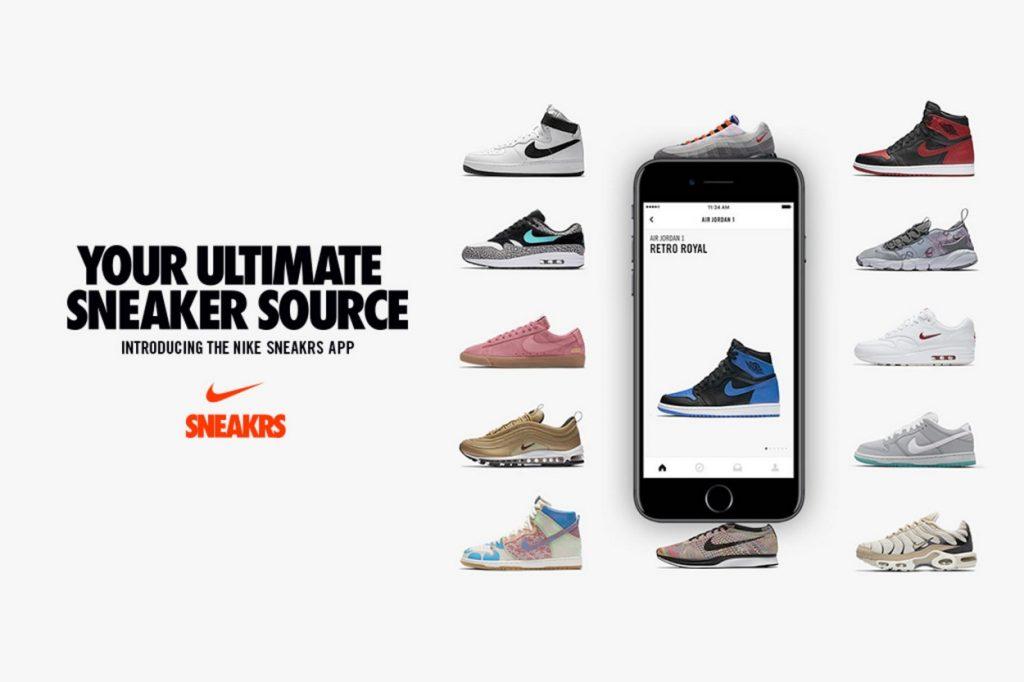 Nike lance la SNEAKRS App en Europe