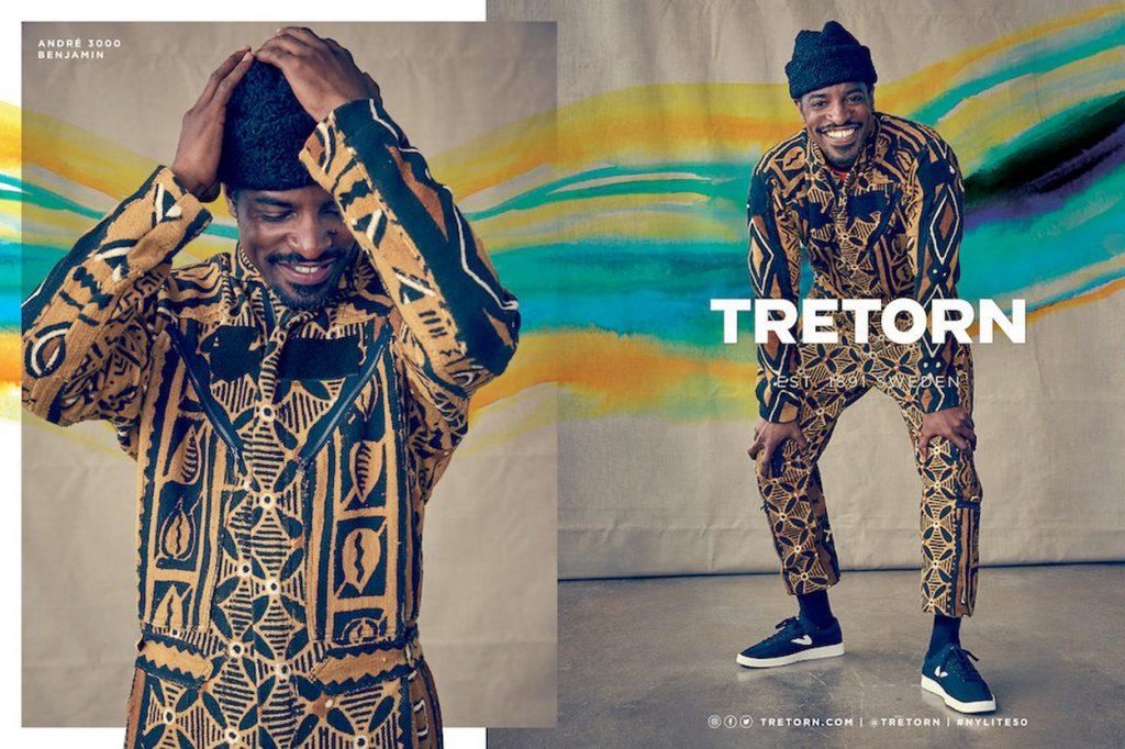 André 3000 nouveau visage de la campagne Tretorn Automne 2017