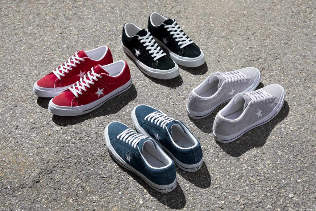 Converse lance sa collection One Star Premium Suede pour l'Automne 2017