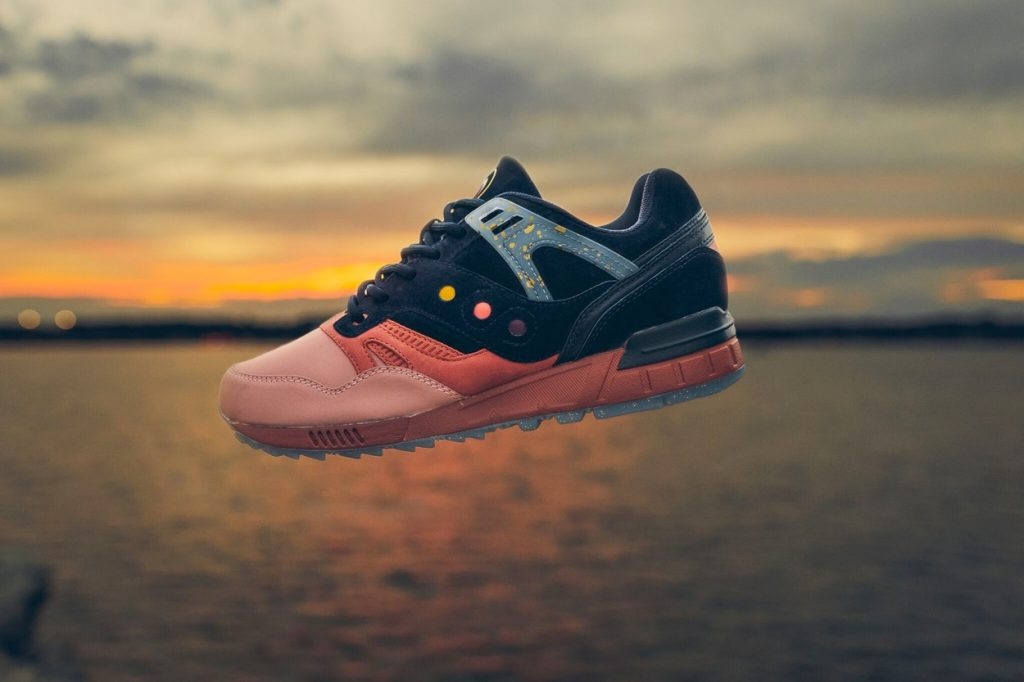 "Édition limitée Saucony Originals Grid SD ""Summer Nights"""