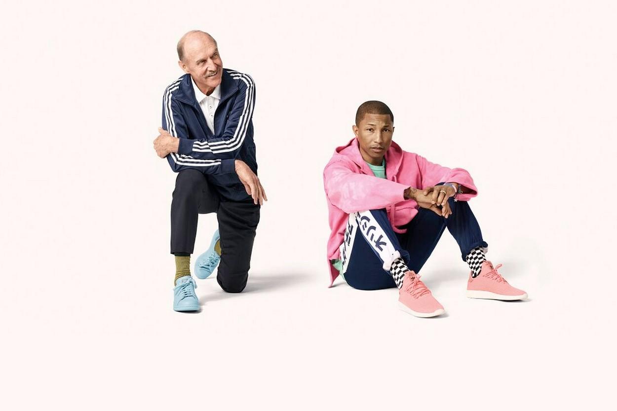 "Pharrell et Stan Smith s'associent pour le Tennis Hu ""Icons Pack"""