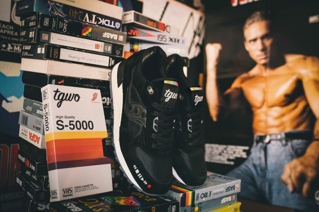 The Good Will Out x Saucony Shadow 5000 VHS