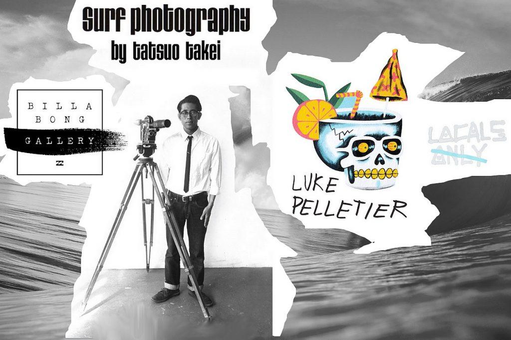Billabong présente ses collections Gallery avec Luke Pelletier et Tatsuo Takei