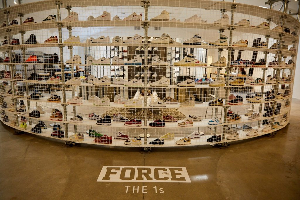 35ème anniversaire de la Nike Air Force 1