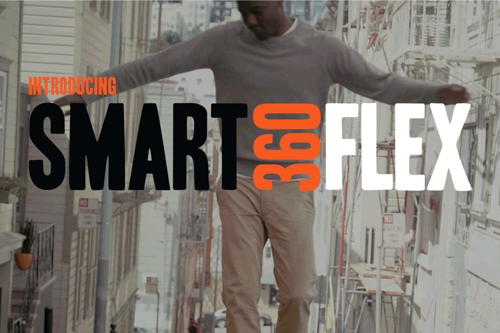 Dockers lance les chinos Smart 360 Flex